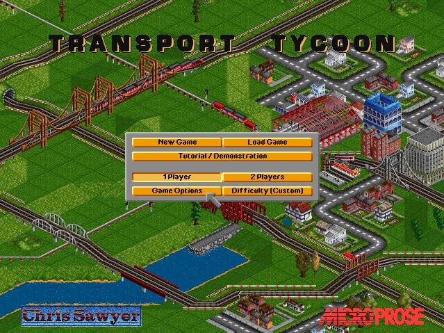 Screenshot of Transport Tycoon