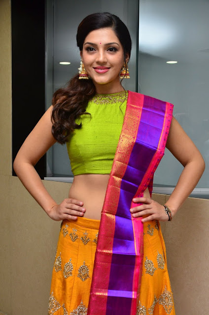 Mehreen Pirzada Stills at Diwali New Collections Show Event