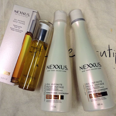 Nexxus Oil Infinite Hair Products ~ #Review #Giveaway