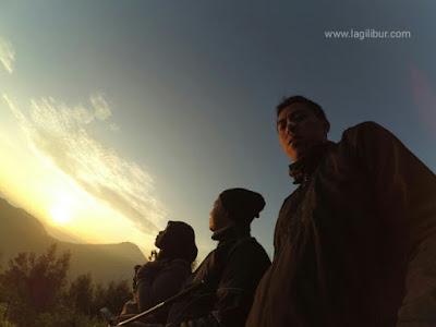 Golden Sunrise Sikunir, dieng, wonosobo, jawa tengah