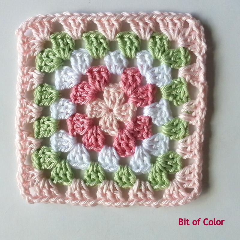 Bit Of Color één Granny Per Dag Uitdaging Voor 100 Dagen