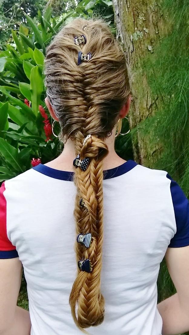 Braids Hairstyles For Super Long Hair Wonder Woman Braid For 4th