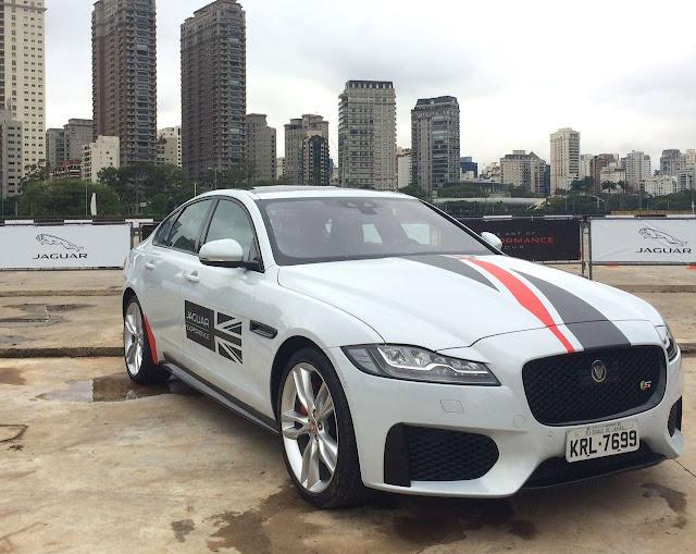 XE, XF e F-Pace da Jaguar estarão em um circuito fechado em São Paulo gratuitamente