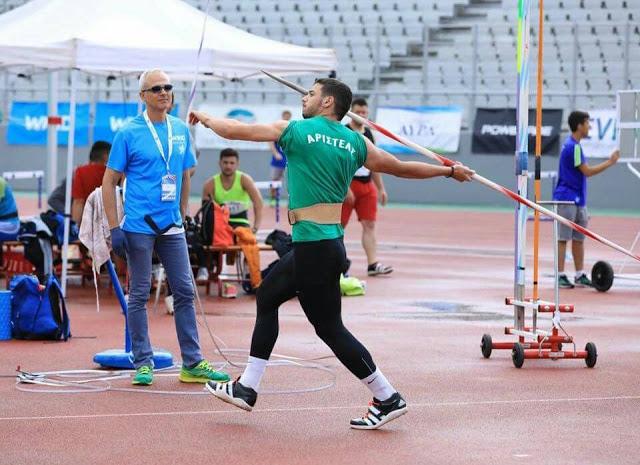 Ο Δημήτρης Πλατής κατέκτησε την τέταρτη θέση στο Πανελλήνιο πρωτάθλημα κατέκτησε