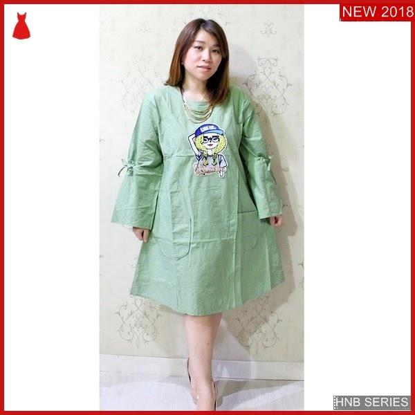 HNB204 Model Lana Atasan Blouse Belakang Kancing Ukuran BMG Shop