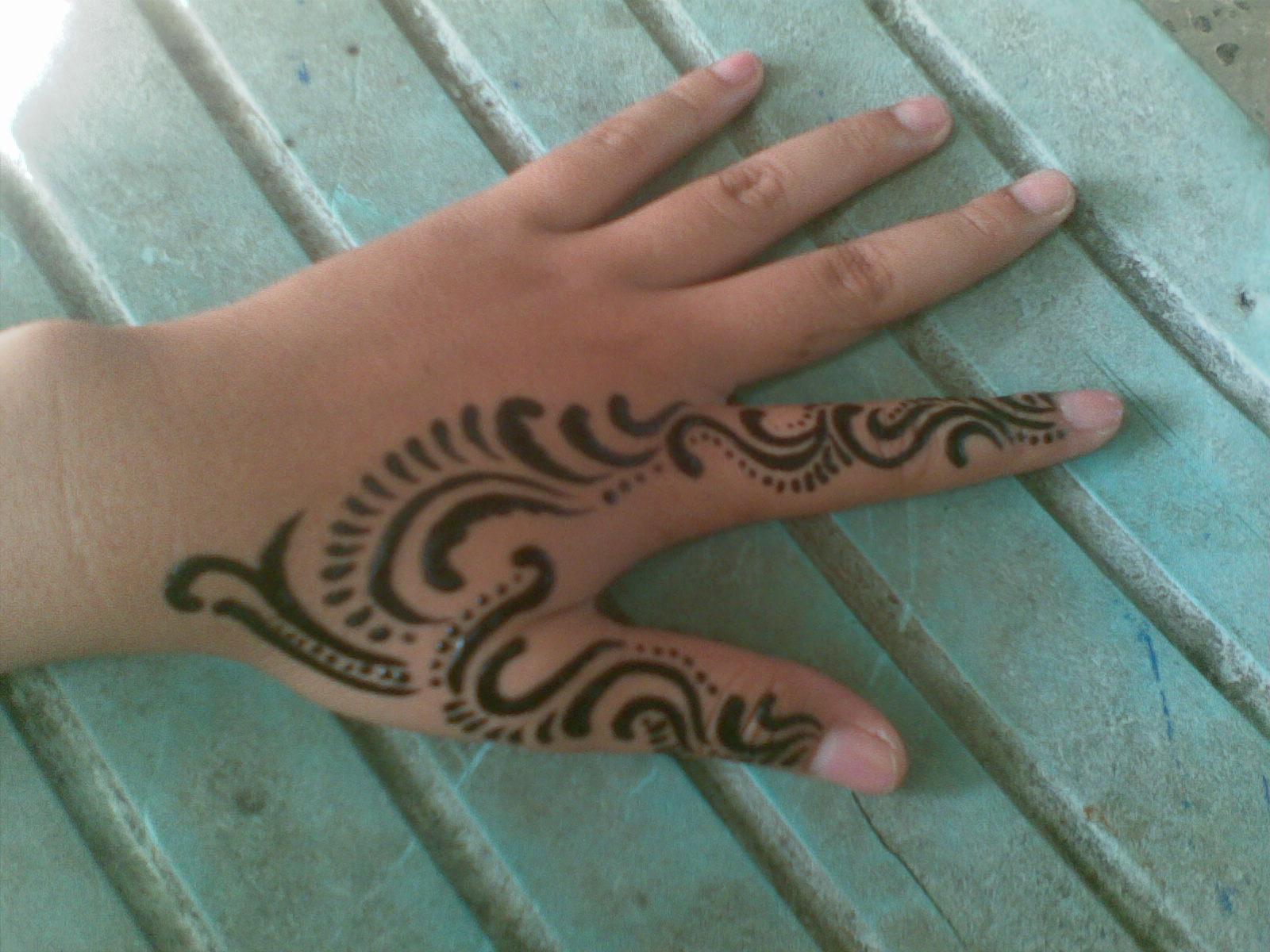 Design Tattoo Tattoo Tangan 2 Jari