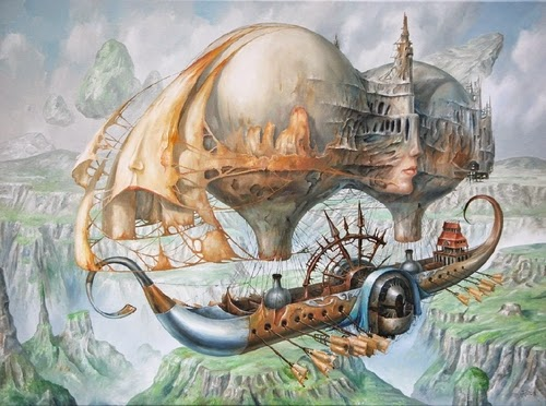 08-Jarosław-Jaśnikowski-Surreal-Paintings-of-Fantastic-Realism-www-designstack-co