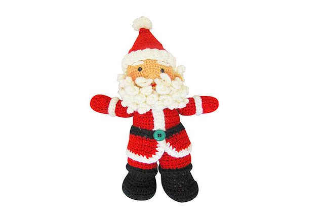 Ravelry: Santa pattern by Amigurumi Fair | 427x640