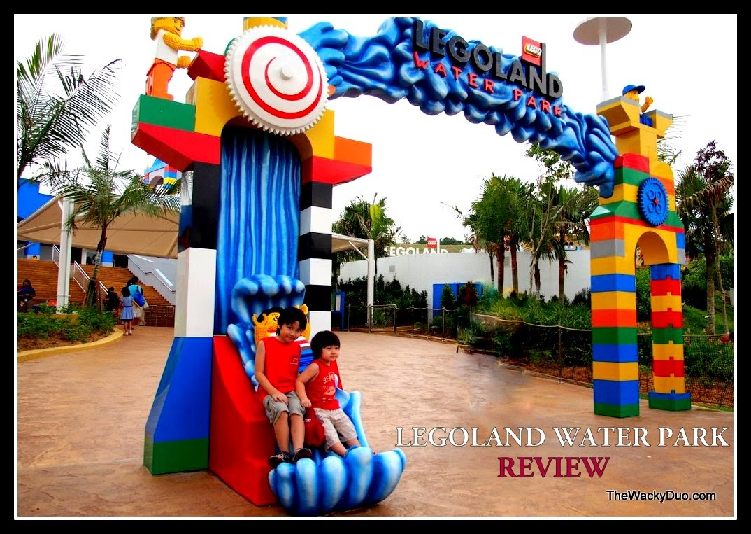Legoland Waterpark Malaysia Review The Wacky Duo Singapore Tiket Johor Bahru Theme Park Dan Water