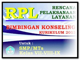 Contoh PTK Bimbingan Konseling (BK) SMP-SMA-SMK pdf Lengkap