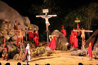 Último dia da Paixão de Cristo em Nova Jerusalém