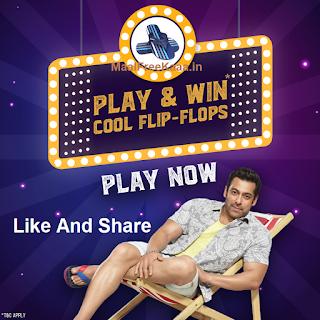 Salman Khan Free Flip Flops