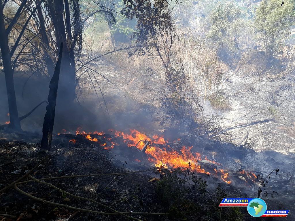 Mais um foco de incêndio é registrado em Óbidos