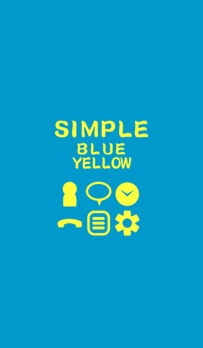SIMPLE blue*yellow