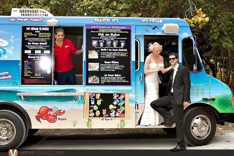We Fell Head Over Heels For The Idea Of Having An Ice Cream Truck Greet Your Guests Right After Ceremony A Cool Treat Genius Especially In