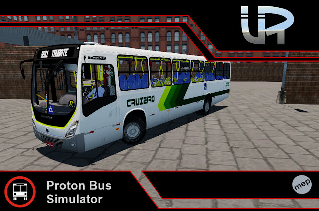 Skin Proton Bus Simulator - Torino 14 MB OF-1721 BT5 Cruzeiro