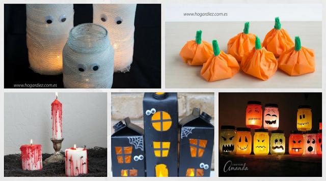 5 diy para celebrar Halloween