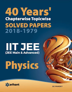 Arihant 40 Years Previous Years Solved Papers
