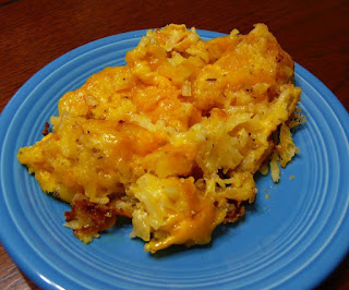 Copycat-Cracker Barrel's Hashbrowns Casserole