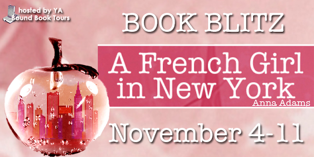 Book Blitz: A French Girl In New York by Anna Adams
