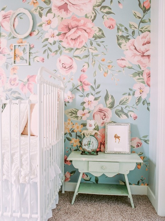 Pastel Colors Reign in This Adorable Nursery