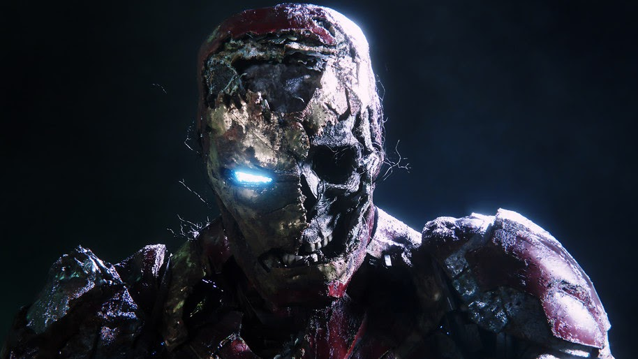 Zombie Iron Man Spider Man Far From Home 4k Wallpaper 76