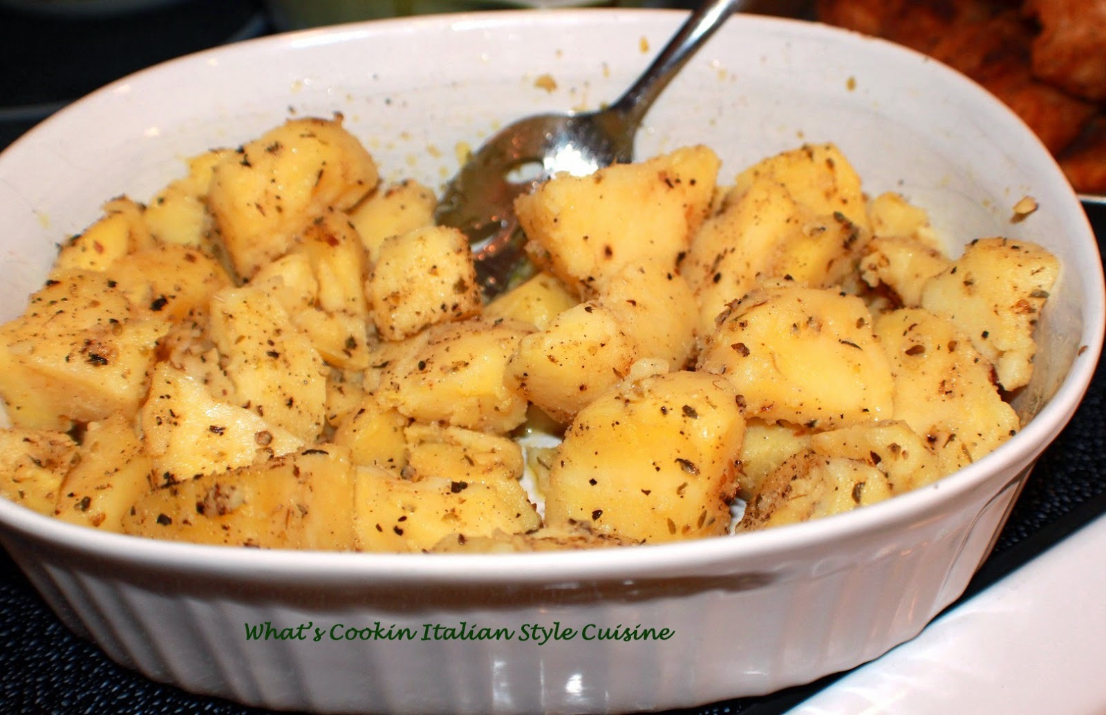 Italian Herb Potato Salad