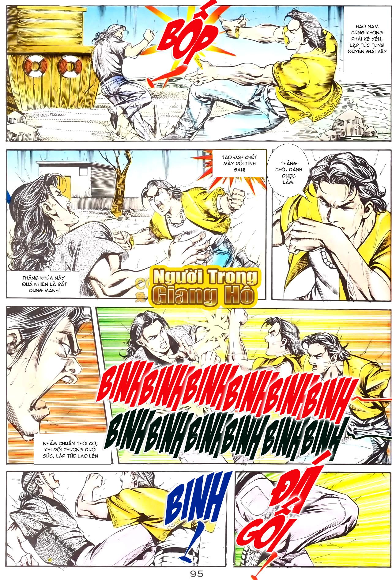 Người Trong Giang Hồ chapter 169: kết cục khủng long trang 21