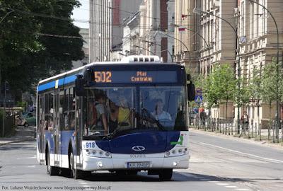 Solarisy Urbino 12 z MPK Kraków