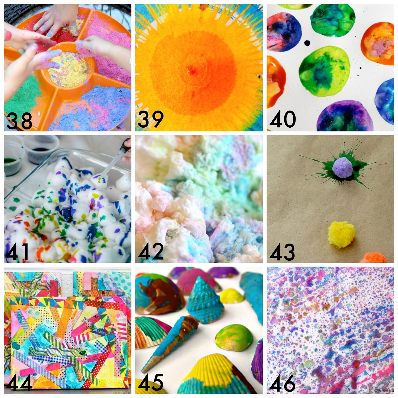 50 Easy Process Art Activities For Kids