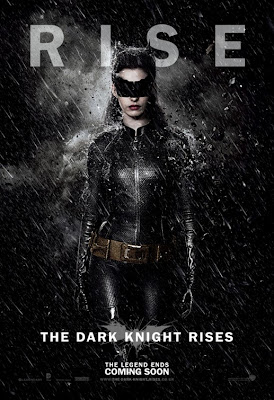 "The Dark Knight Rises ""RISE"" Character Movie Poster Set - Anne Hathaway as Catwoman"