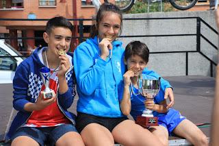 La familia Santamaría, con sus oros