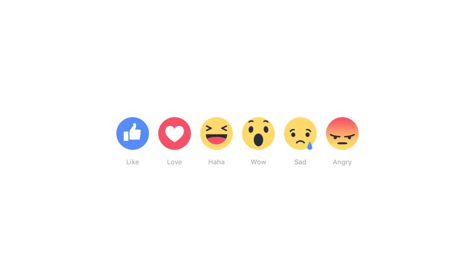tombol reaksi facebook