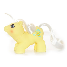 My Little Pony Toppy Year Six Newborn Twin Ponies II G1 Pony
