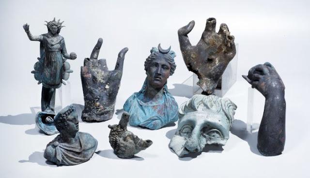 Spectacular cargo of ancient shipwreck found in Caesarea