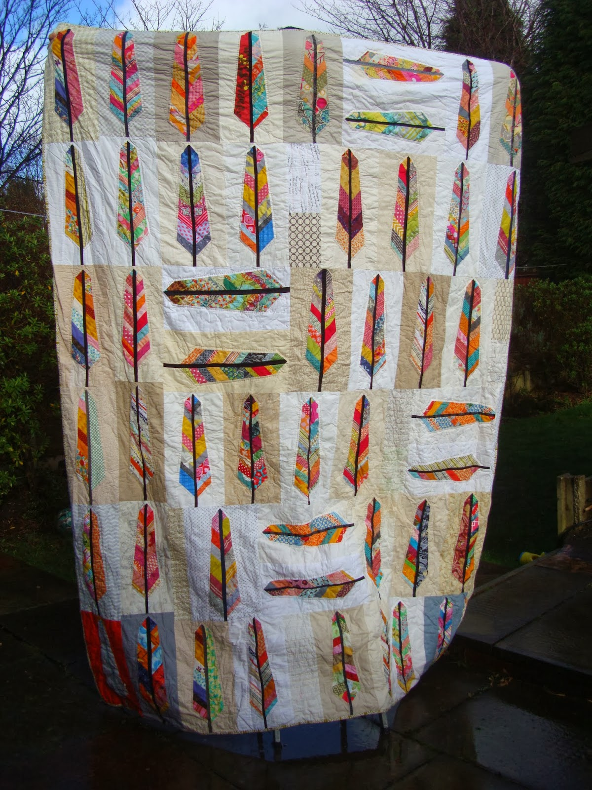 Bees Of A Feather Quilt And A Giveaway Charm About You