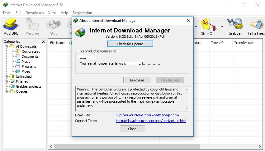 Internet Download Manager 6.32 Build 9
