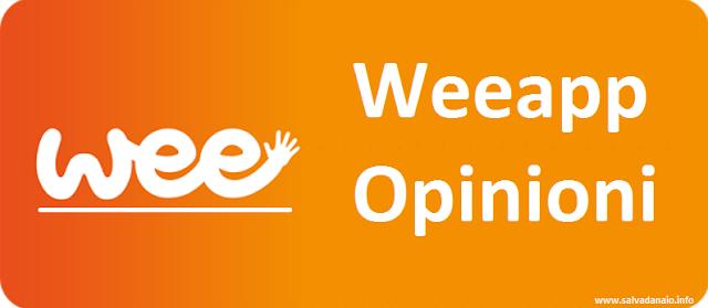 Weeapp opinioni guadagnare acquistando prodotti
