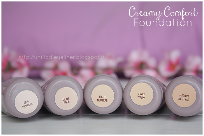 Creamy Comfort Foundation Preview - Neve Cosmetics