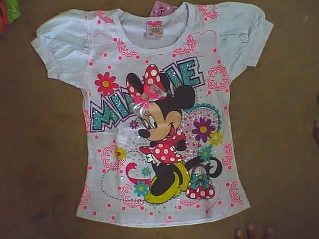 modelos de blusas con manga para niñas