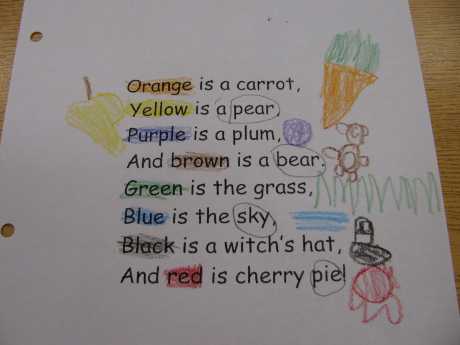 First Grade Gallery Lessons For Little Learners Poetry