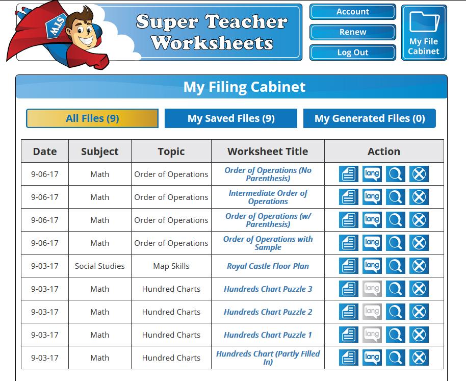 Super Teacher Worksheet Roman Numerals - Kidz Activities