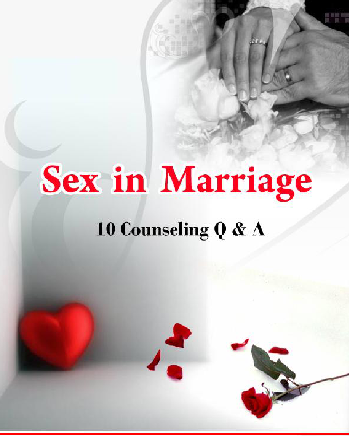 Questions about sex in marriage