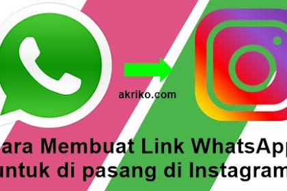 Cara Membuat Link WhatsApp untuk ditaruh di Mana Saja
