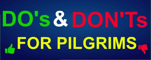 Do's and Don'ts at Krishna Pushkaram 2016 Ghats