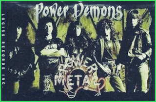 Gambar Album Power Demon - Power Metal
