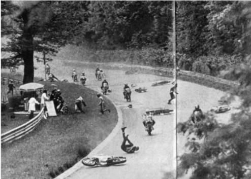 Monza 1973 Crash