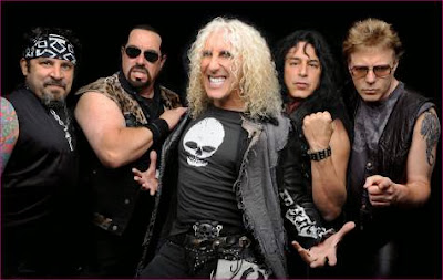 "Twisted Sister A.J. Pero, Mark ""The Animal"" Mendoza, Dee Snider, Eddie ""Fingers"" Ojeda, Jay Jay French"