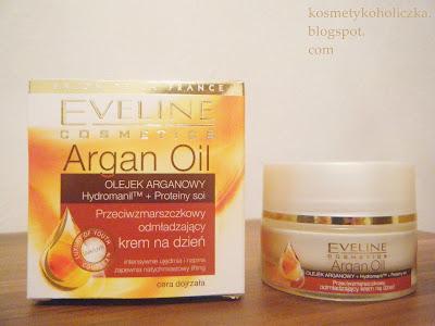 HIT: Eveline Przeciwzmarszczkowy odmładzający krem na dzień Argan Oil