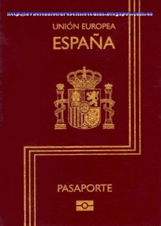 Pasaporte español.